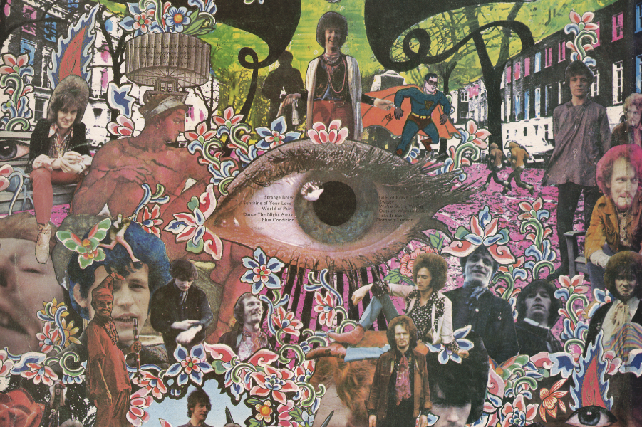 Lato B dell'album Disraeli Gears dei Cream, 1967
